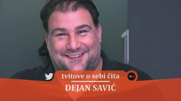 Dejan Savić, tvitovi, mondo tv