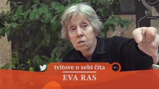 Eva Ras, tviter, mondo tv