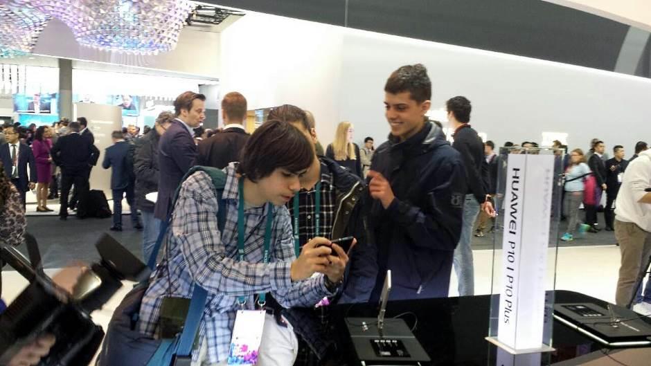 Srpski đaci na najvećem Sajmu mobilne telefonije