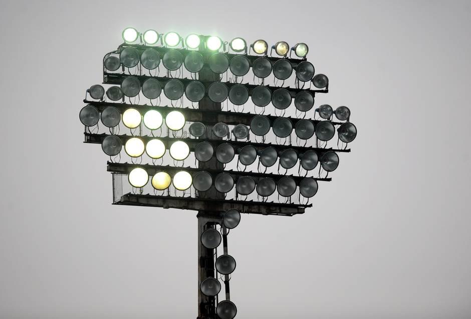 reflektor, stadion partizana, partizan, reflektori