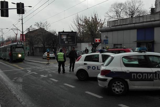 tramvaj tramvaji kolaps udes sudar vojvode stepe policija