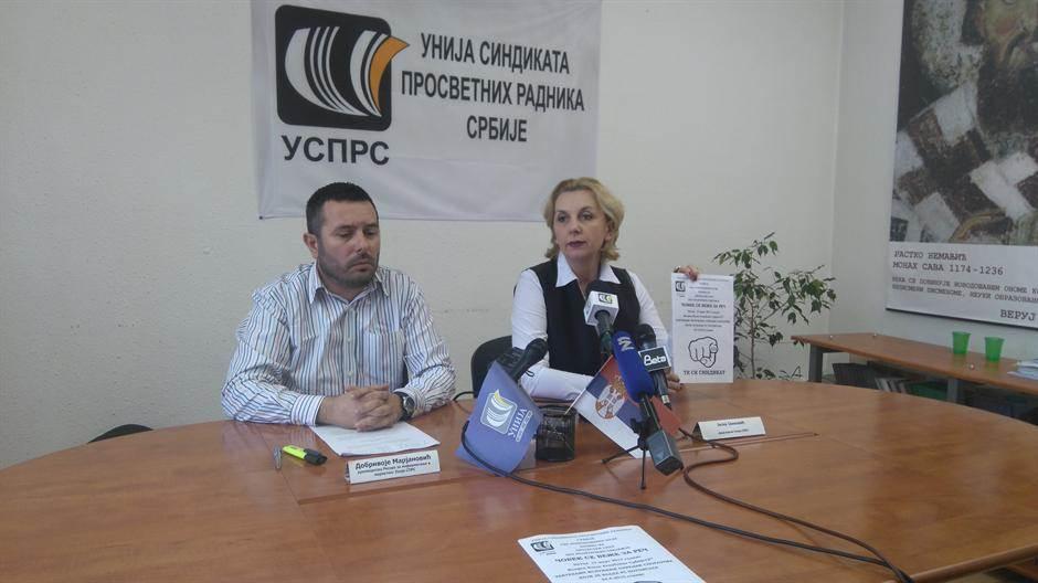 jasna janković, unija prosvetnih radnika srbije,