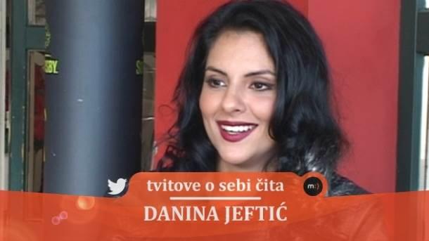 Danina Jeftić, mondo tv, tvitovi, tviter