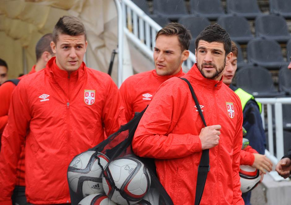 Sergej Milinković Savić i Stefan Mitrović reprezentacija