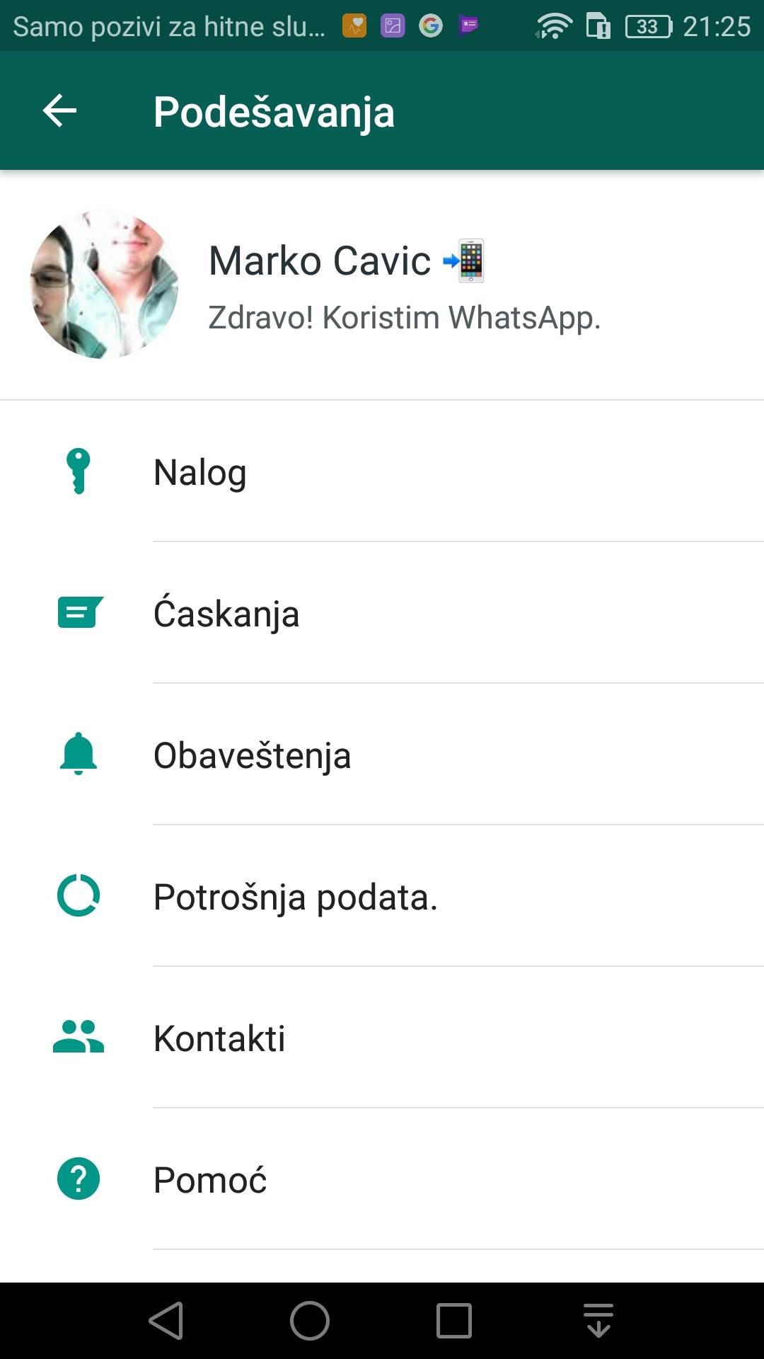 WhatsApp vratio staru opciju na zahtev korisnika
