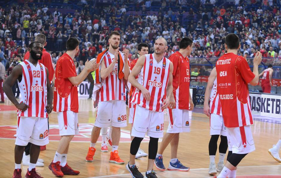 KK Crvena zvezda Simonović Kuzmić Dženkins Mitrović