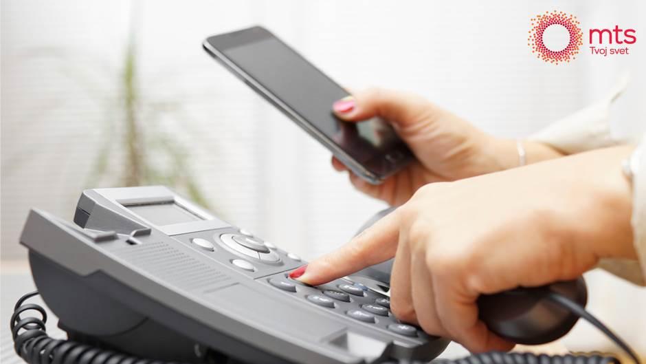 Kako brzo dopuniti kredit sa fiksnog telefona