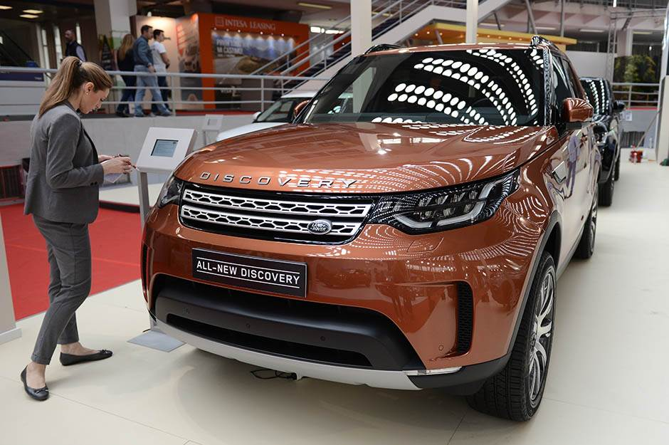 sajam automobila 2017, premijere, Land Rover All-New Discovery