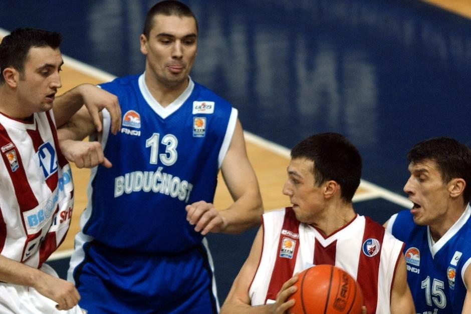 Dejan Milojević i Luka Bogdanović Budućnost Crvena zvezda