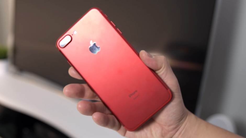 iPhone, Red iPhone, Crveni iPhone