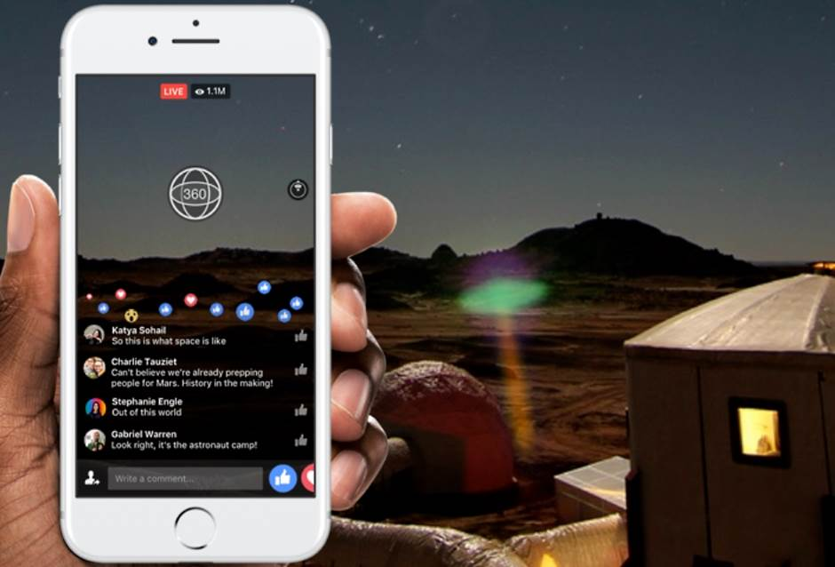 Facebook, Fejs, 360, VR, 360 video