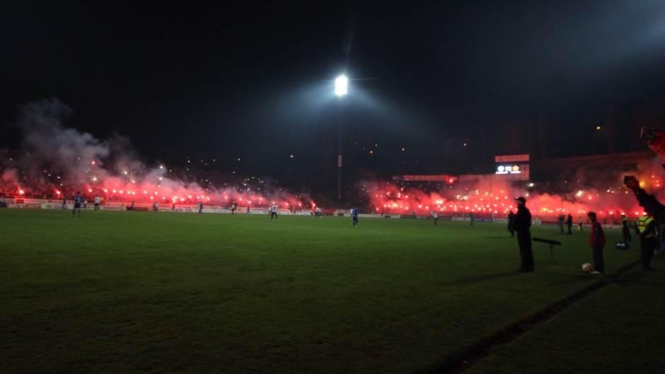 "Svečano otvorena istočna tribina stadiona ""Grbavica"""