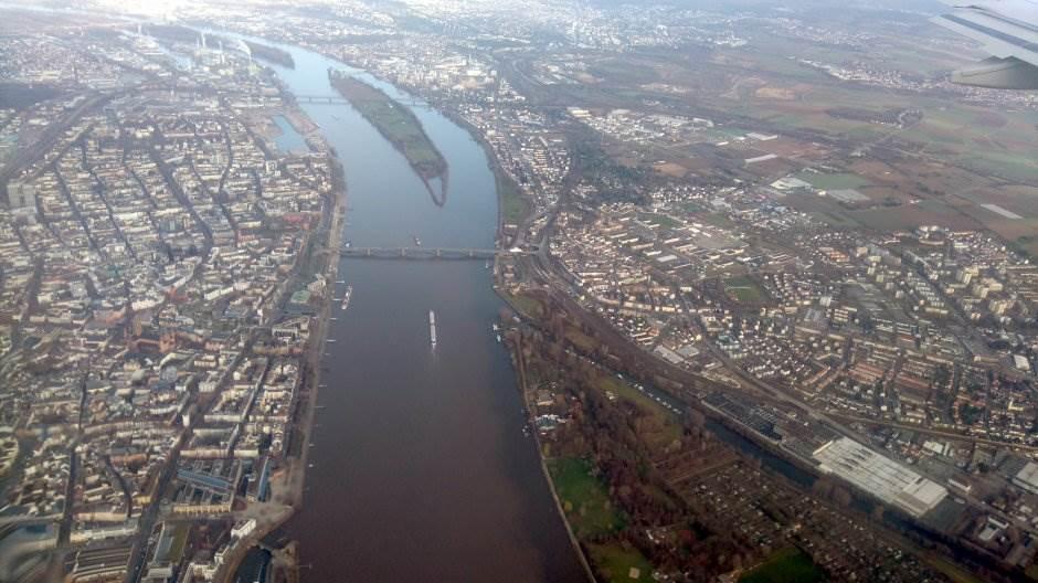 nemačka frankfurt reka grad nemci