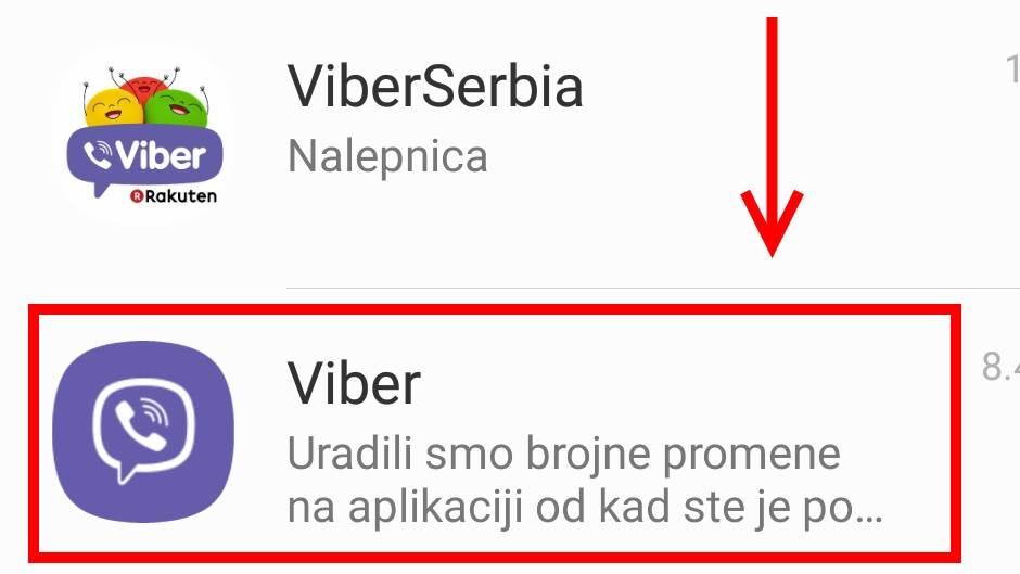 Ako dobijete ovu Viber poruku…