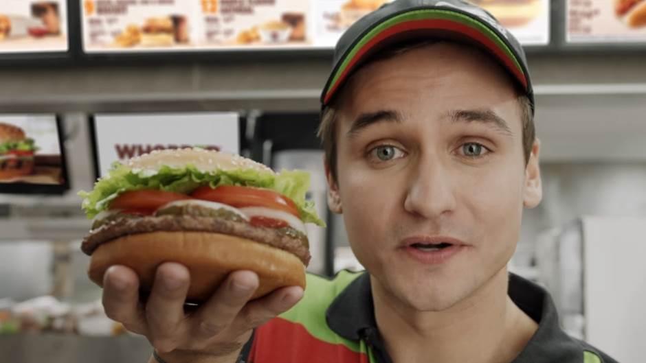 Connected Whopper, Burger King, Hamburger, Sendvič