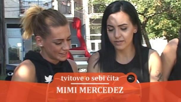 Mimi Mercedez, tvitovi, mondo tv