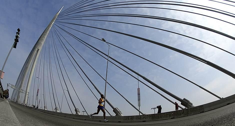 maraton, most na adi