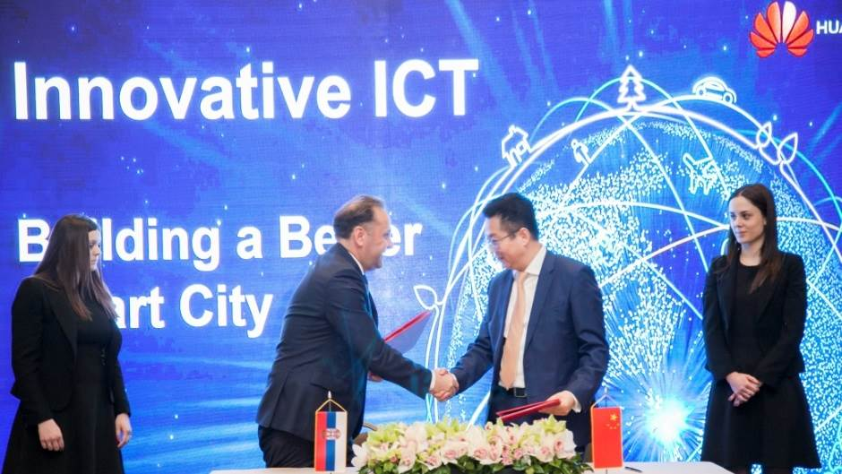 Huawei Smart city Srbija