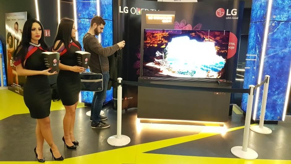 LG OLED 4K TV u Srbiji