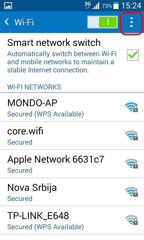 Isključite dosadno Wi-Fi obaveštenje