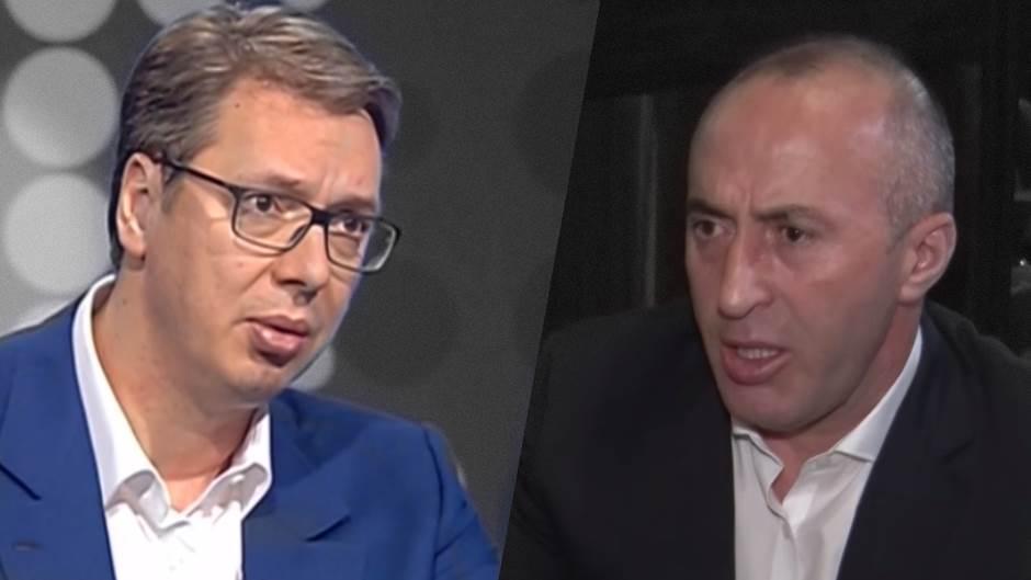 Aleksandar Vučić, Ramuš Haradinaj, Vučić i Haradinaj