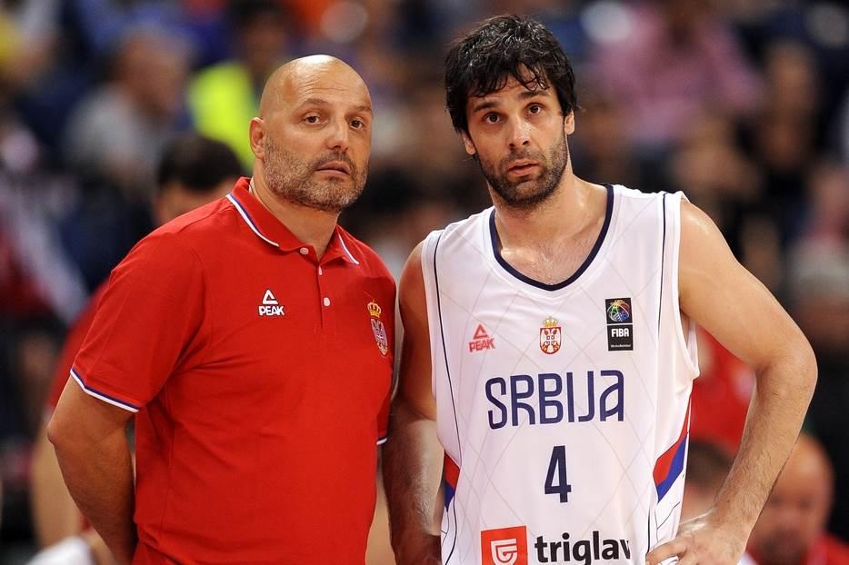 Aleksandar Đorđević i Miloš Teodosić