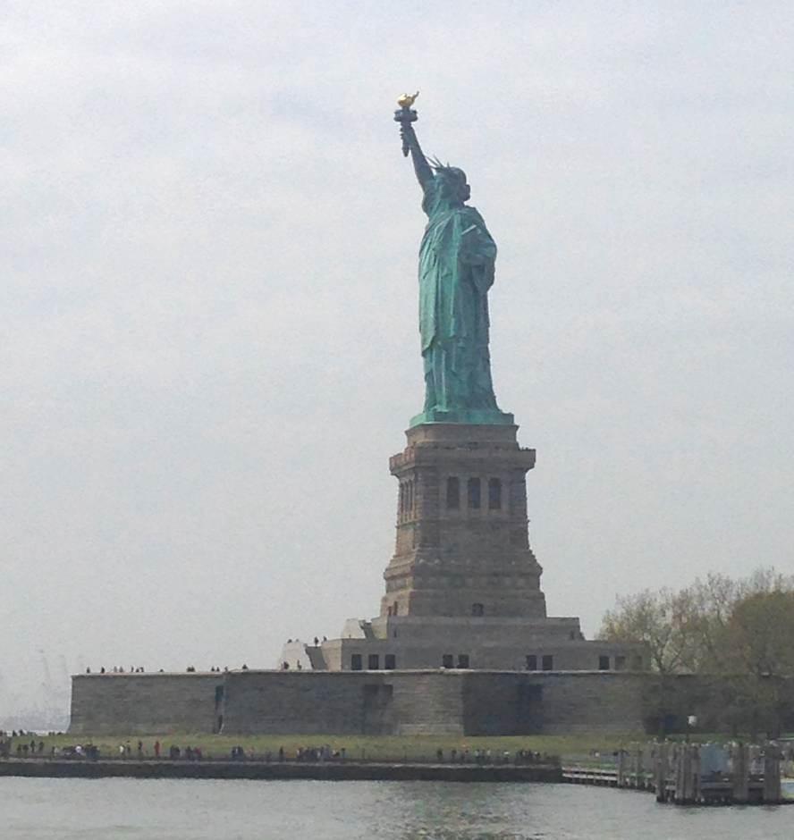 njujork, kip slobode