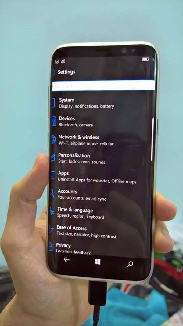 Galaxy S8 dobija Windows 10 Mobile?!