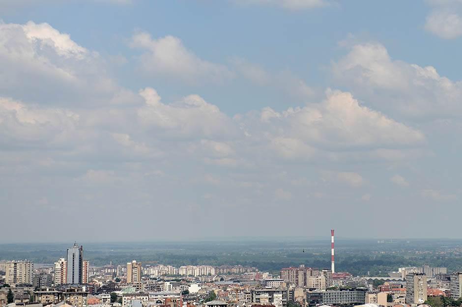 beograd, panorama, panorame beograda, dorćol, toplana, zgrade, soliteri, kuće, naselje, grad