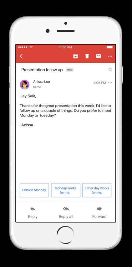 GMail uveo pametno odgovaranje na mejlove