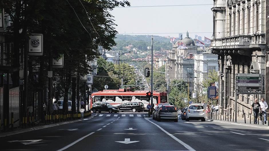 Nesreća u centru Beograda, četvoro povređenih!