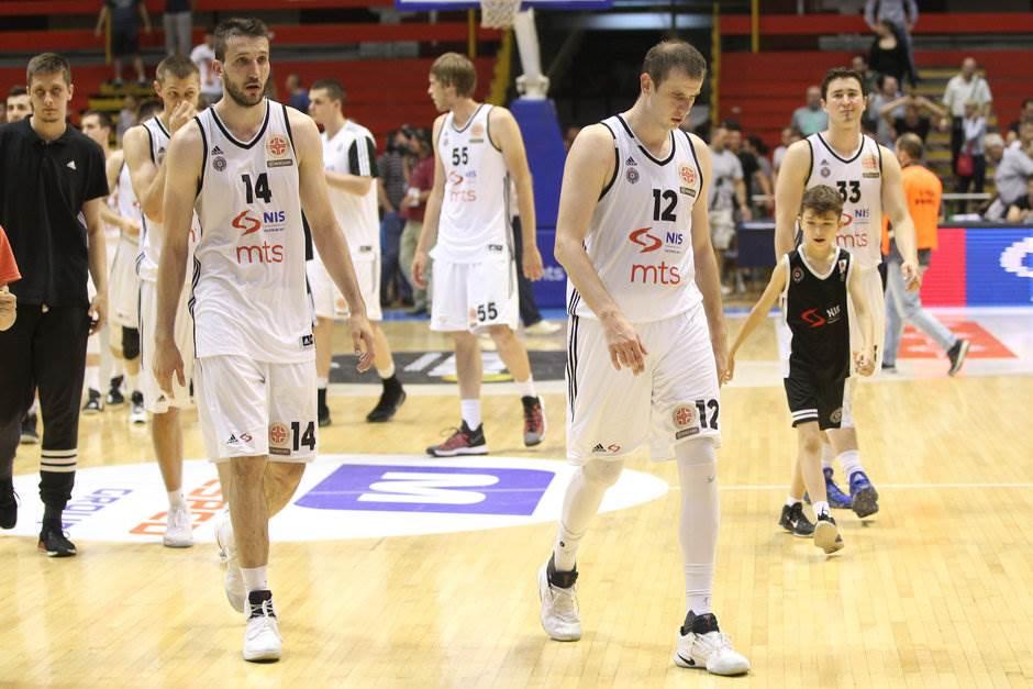 Novica Veličković Stefan Birčević KK Partizan