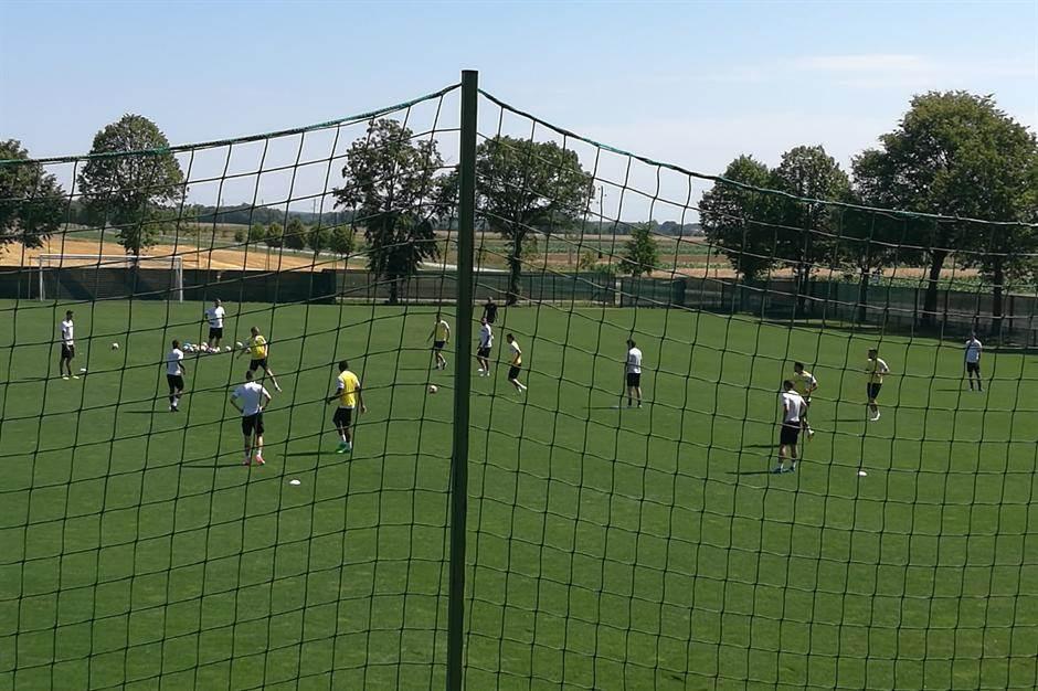 FK Partizan trening pripreme