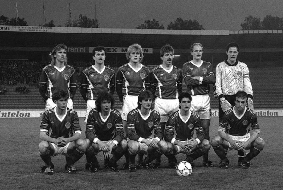 Jugoslavija - Farska Ostrva 7:0 (16. maj 1991. Beograd). Stanojković, Savićević, Prosinečki, Vulić, Spasić, Ivković, Boban, Mihajlović, Jarni, Pančev, Najdoski.