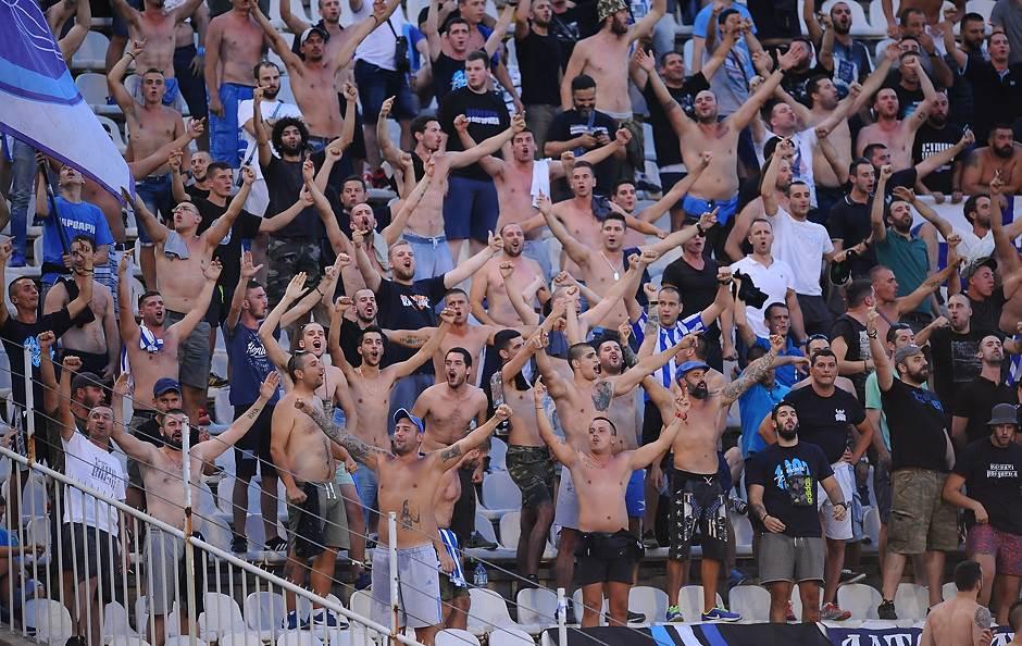 partizan budućnost buducnost navijaci navijači liga šampiona grobari varvari