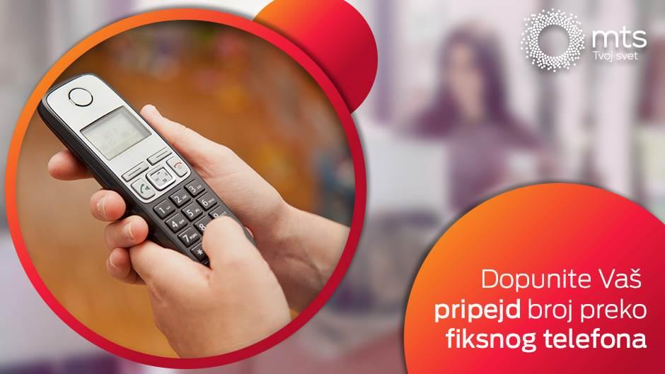 Kako da brzo dopunite kredit sa fiksnog telefona?