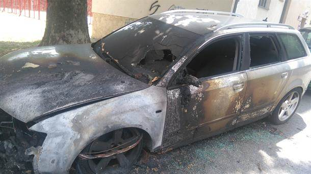 automobil, požar, eksplozija