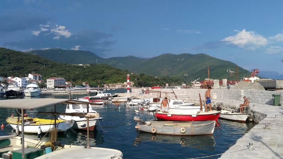 Meljine Lazaret herceg novi more crna gora crnogorsko primorje plaža