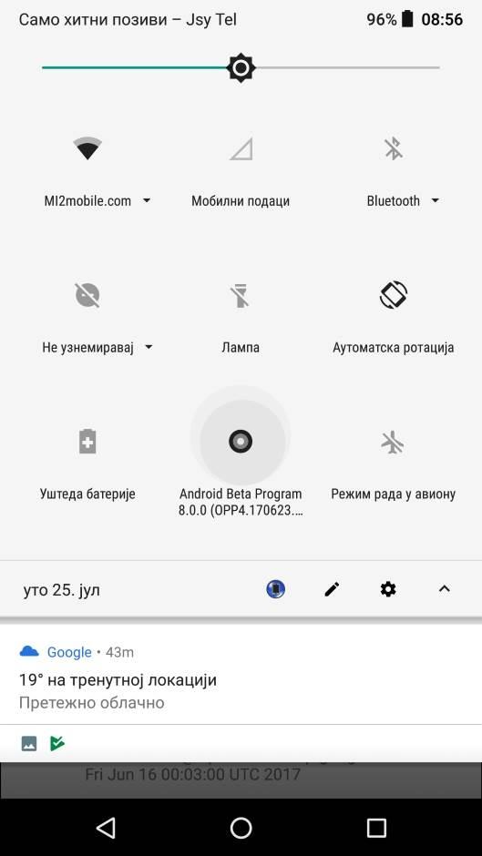 Odlaže se novi Android