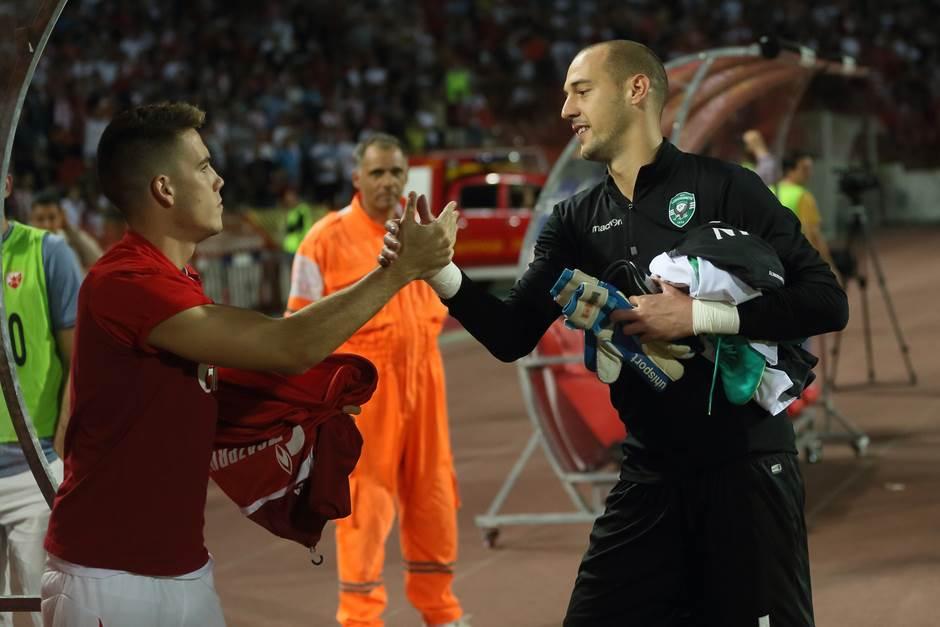 Mihailo Ristić i Milan Borjan