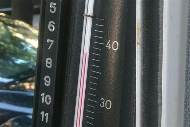 termometar, vrućina