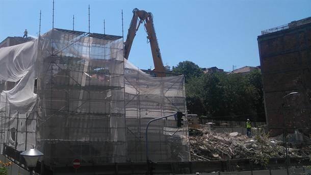 američka ambasada gradilište radovi sarajevska radnik radnici građevina