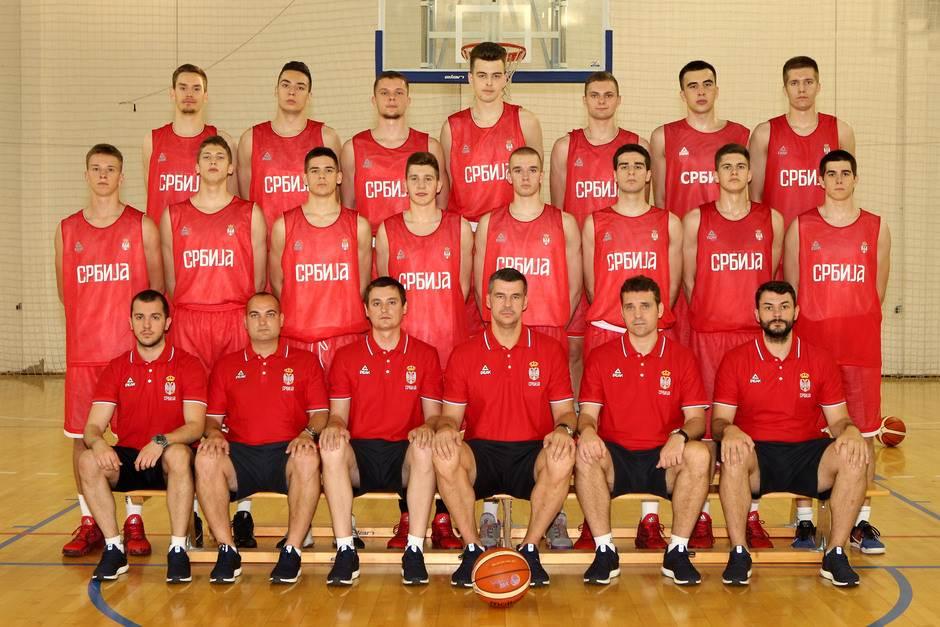 U18 reprezentacija Srbije Pecarski Mišković Uskoković