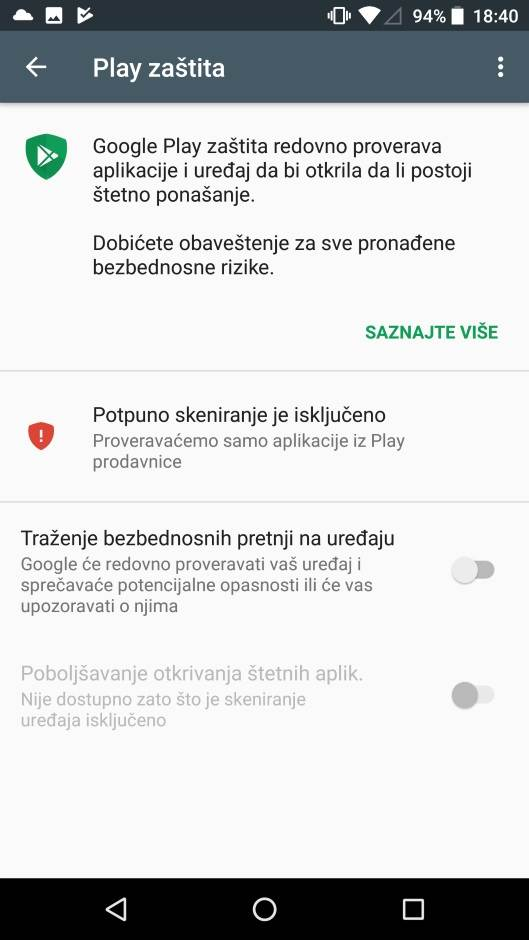 Google konačno zaštitio Play Store (FOTO, VIDEO)