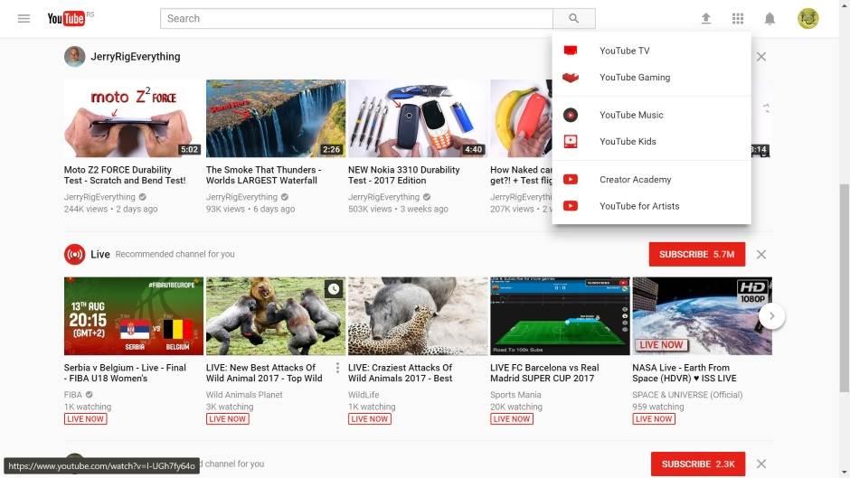 YouTube potpuno promenio izgled sajta!
