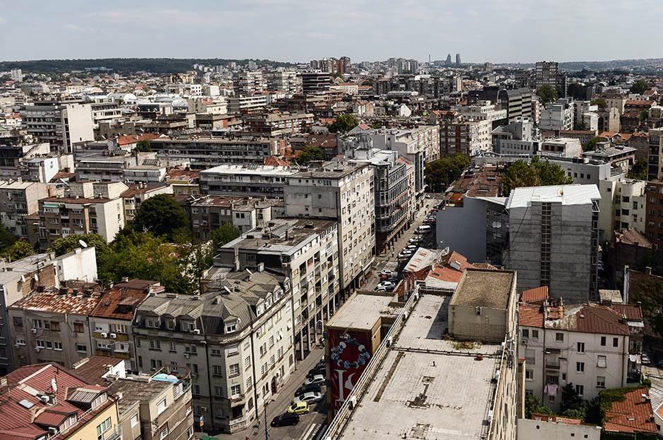 zgrade, zgrada, kuće, naselje, grad, beograd, grad, ulice, panorama,