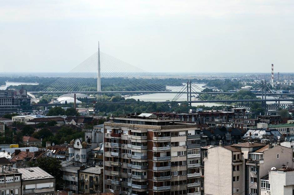 most na adi, zgrade, zgrada, kuće, naselje, grad, beograd, grad, ulice, panorama,