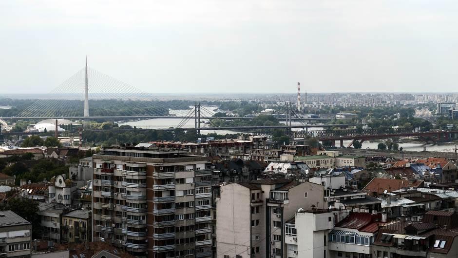 beograd, mostovi, most, most na adi, grad, zgrade, naselje, kuća, kuće,