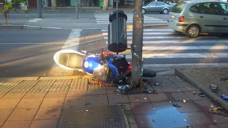 Novi-Beograd-Kamion-udatio-motociklistu