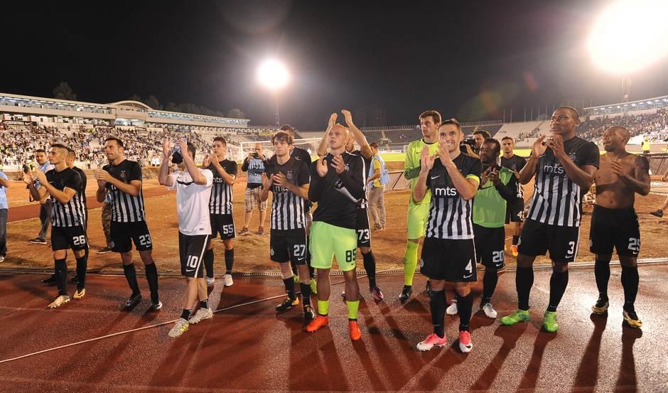 FK Partizan fudbaleri Partizana